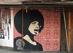 Shephard Fairey's Angela Davis (Boston, MA) by takomabibelot